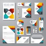 Wektorowa broszurka, ulotka, okładki magazynu broszury projekta plakatowy szablon ilustracja wektor