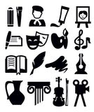 Sztuki ikona royalty ilustracja