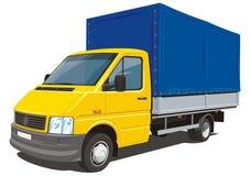 Doręczeniowa ciężarówka ilustracja wektor
