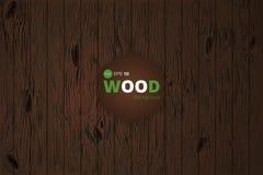 Wektorowa drewniana tekstura tło starzy panel Grunge retro rocznika drewniana tekstura, tło Obrazy Royalty Free
