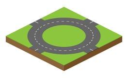 Wektorowa drogowa cegła ilustracji