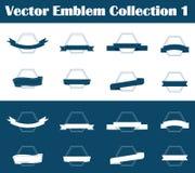 Wektorowa emblemat kolekcja (1) Obraz Stock