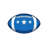 Wektorowa etykietka futbol amerykański Obraz Stock
