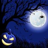 Wektorowa Halloween ilustracja Obrazy Royalty Free