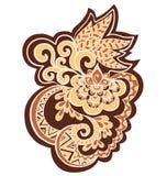 Wektorowa ilustracja abstrakcjonistyczny ornament Zdjęcia Royalty Free