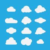 Wektorowa ilustracja chmury inkasowe ilustracji