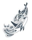 Wektorowi delfiny Obrazy Royalty Free