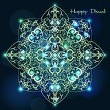 Wektorowa ilustracja dla Diwali Ilustracji