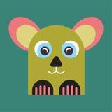 Dziwaczna zwierzęca maskotka Zdjęcia Royalty Free