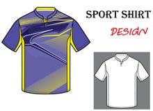 Wektorowa ilustracja futbolowy koszulka szablon Fotografia Stock