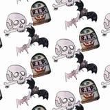 Wektorowa ilustracja Halloween set Zdjęcie Stock