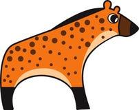Wektorowa ilustracja hiena Obrazy Royalty Free