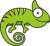 Wektorowa ilustracja kameleon Zdjęcie Stock