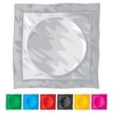 Wektorowa ilustracja kondom Zdjęcie Royalty Free