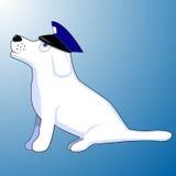 Wektorowa ilustracja milicyjny pies Ilustracji