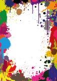 Wektorowa ilustracja projekt z obrazem splatters Obraz Stock