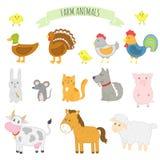 Wektorowa ilustracja zwierzęta gospodarskie ilustracja wektor