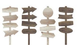 Wektorowa ilustracyjna drewniana znak deska royalty ilustracja