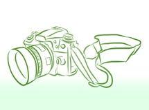 Wektorowa kamera ilustracji