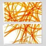 Wektorowa karta ustawiająca dla twój projekta Obrazy Royalty Free
