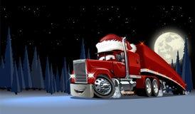 Wektorowa kartka bożonarodzeniowa Zdjęcia Royalty Free