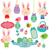 Słodka Easter klamerki sztuka Obraz Stock