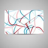 Wektorowa koperta dla twój projekta Zdjęcia Royalty Free