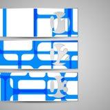 Wektorowa koperta dla twój projekta Zdjęcie Royalty Free