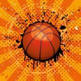 wektorowa koszykowa piłka Obrazy Stock