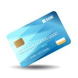 Wektorowa kredytowa karta Fotografia Royalty Free