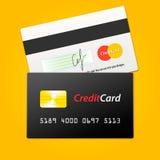 Wektorowa kredytowa karta Obraz Stock