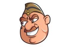 Wektorowa kreskówki ilustracja Śliczny policjant ilustracja wektor