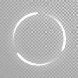 Wektorowa lśnienia światła ogonu fala ilustracja wektor