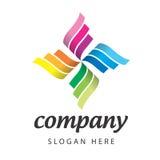 Wektorowa logo rywalizacja ilustracja wektor