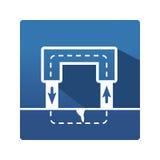 Wektorowa magnes ikona Zdjęcia Stock
