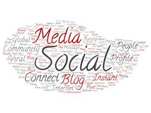 Wektorowa ogólnospołeczna medialna networking lub komunikacji marketingowa technologia ilustracja wektor