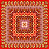 Wektorowa ornament rama w orientalnym stylu Fotografia Royalty Free