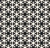 Wektorowa ornamentacyjna geometryczna tekstura arabian wzór Obrazy Stock