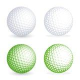 Wektorowa piłka golfowa Zdjęcie Stock