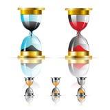 Wektorowa piaska zegaru ikona Royalty Ilustracja