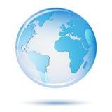 Wektorowa planety ziemia Kuli ziemskiej ikona Obraz Royalty Free