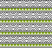Wektorowa Plemienna Afrykańska Etniczna Deseniowa tło ilustracja Obrazy Royalty Free