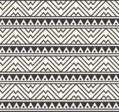 Wektorowa Plemienna Afrykańska Etniczna Deseniowa tło ilustracja Zdjęcia Royalty Free