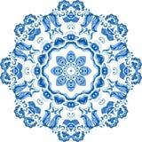 Wektorowa próbki koronki azjata płytka wnioski okręgu tła ilustracja wiele użytecznych wektora Royalty Ilustracja