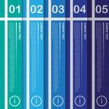 Wektorowa praca, Abstrakcjonistyczny sztandaru szablon dla projekta i Kreatywnie Wo, Zdjęcie Royalty Free