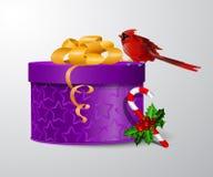 wektorowa prezenta pudełka ilustracja Fotografia Stock