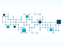Wektorowa projekt technologia, sieć, medyczny, biznesowy tło, Fotografia Royalty Free