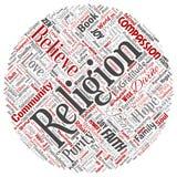 Wektorowa religia, bóg, wiara, duchowość royalty ilustracja