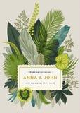 Wektorowa rocznik karta tła eleganci serc zaproszenia romantycznego symbolu ciepły ślub ilustracji