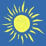 Wektorowa słońce ilustracja Zdjęcia Stock